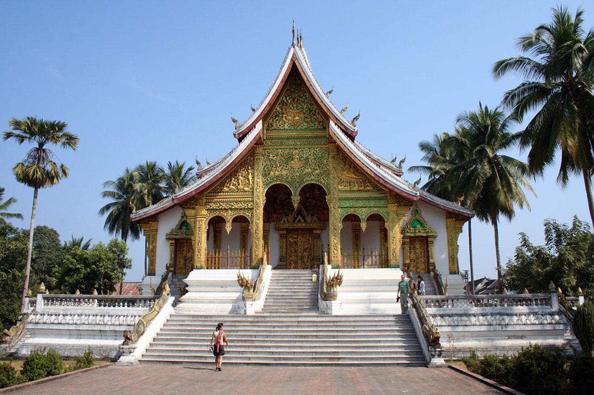 Tempel in Luang Prabang.