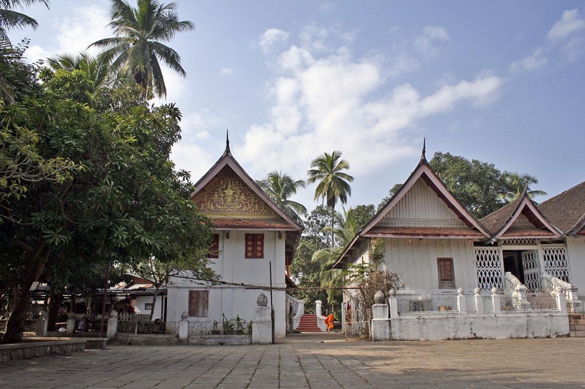 Luang Prabang in Laos heeft vele tempels.