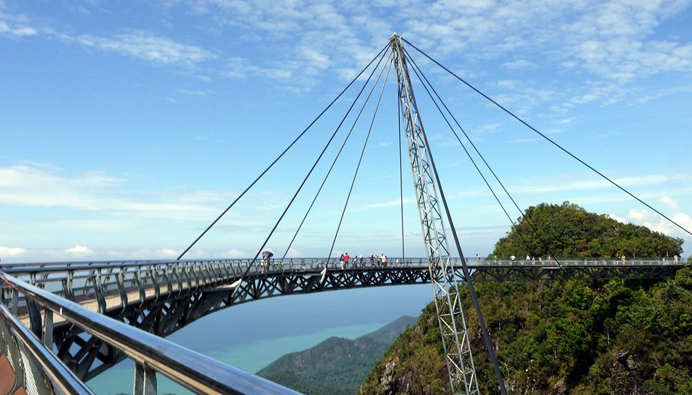 Loopbrug in Langkawi, Maleisië