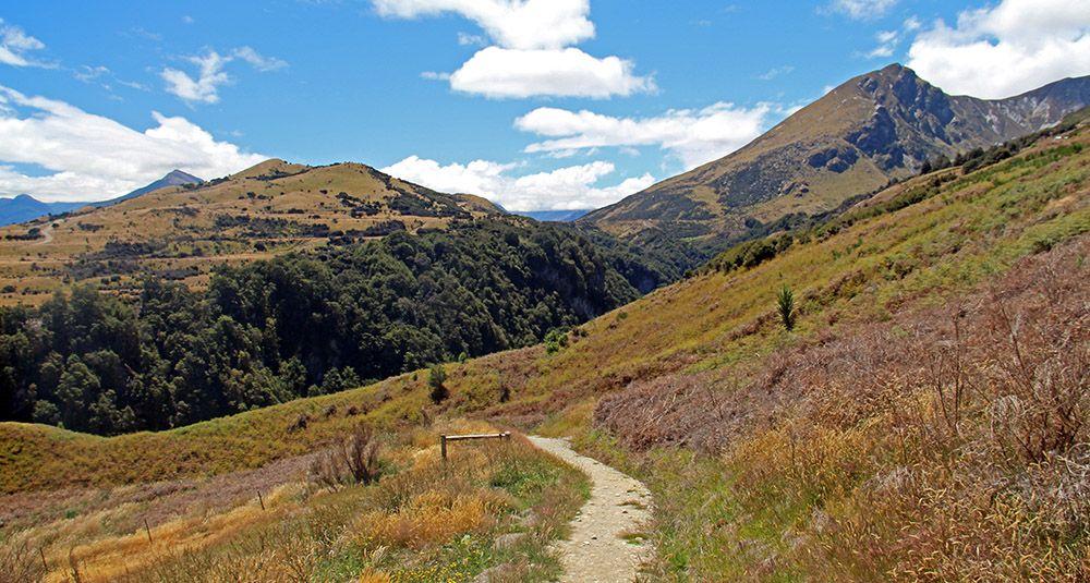 Op het Zuidereiland van Nieuw-Zeeland is het heerlijk wandelen