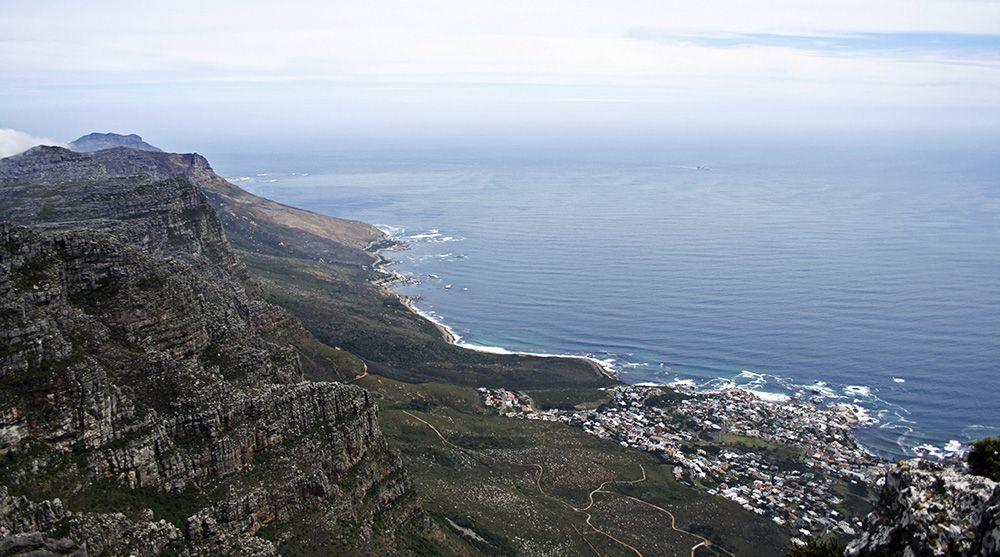 tafelberg in Kaapstad, Zuid-Afrika