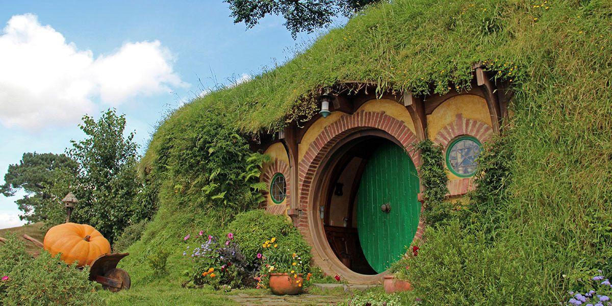 Hobbiton op Noordereiland van Nieuw-Zeeland