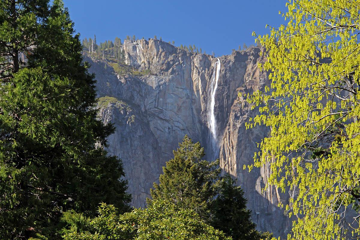 Waterval in Yosemite National Park