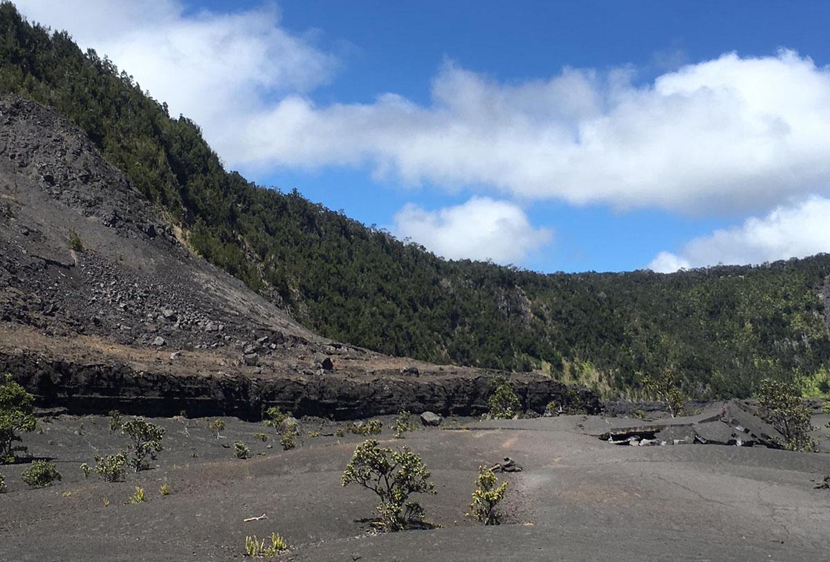Vulkaan op Hawaii
