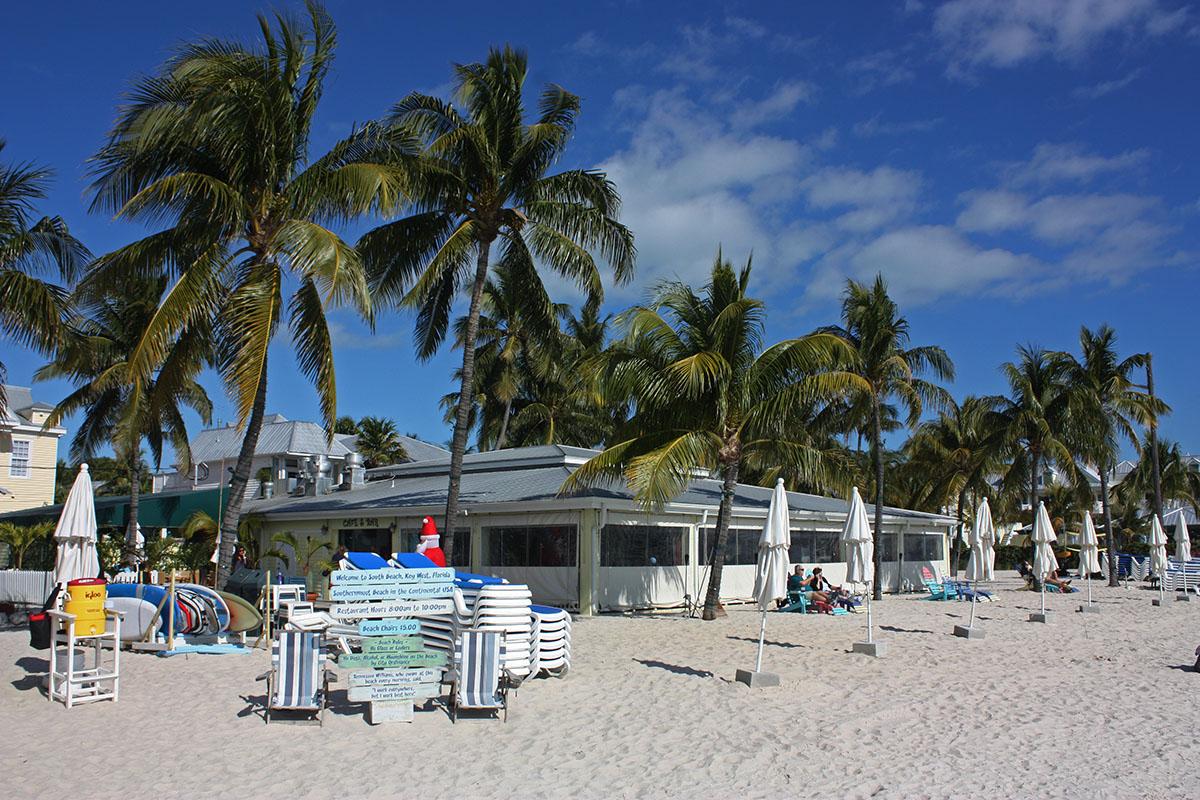 Strand op de Florida Keys