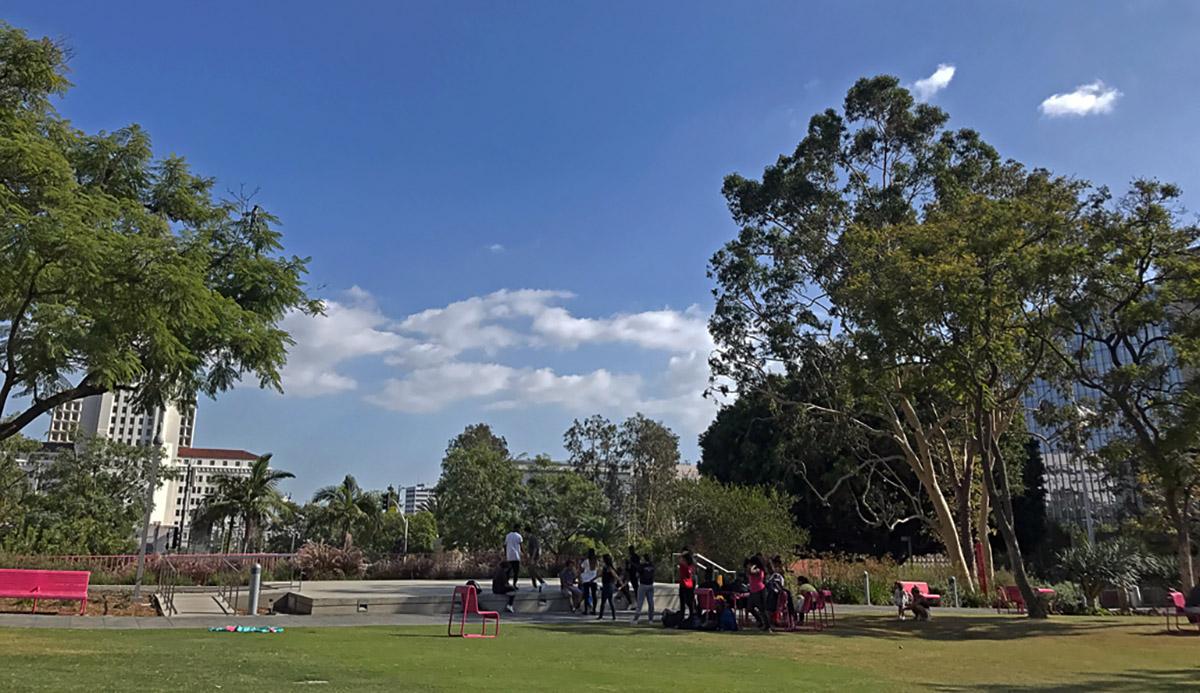 Grand Park in LA