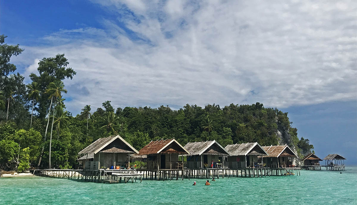 Mooie verblijven op West-Papoea
