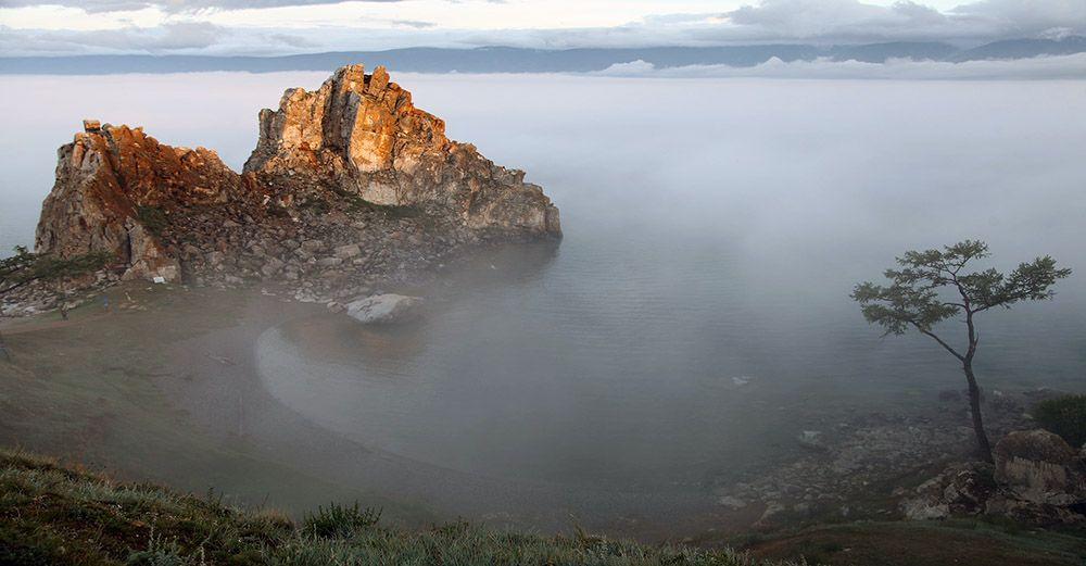 Baikal meer in Siberië, Rusland