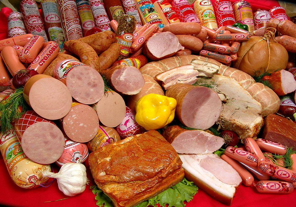 Typische Russische etenswaren