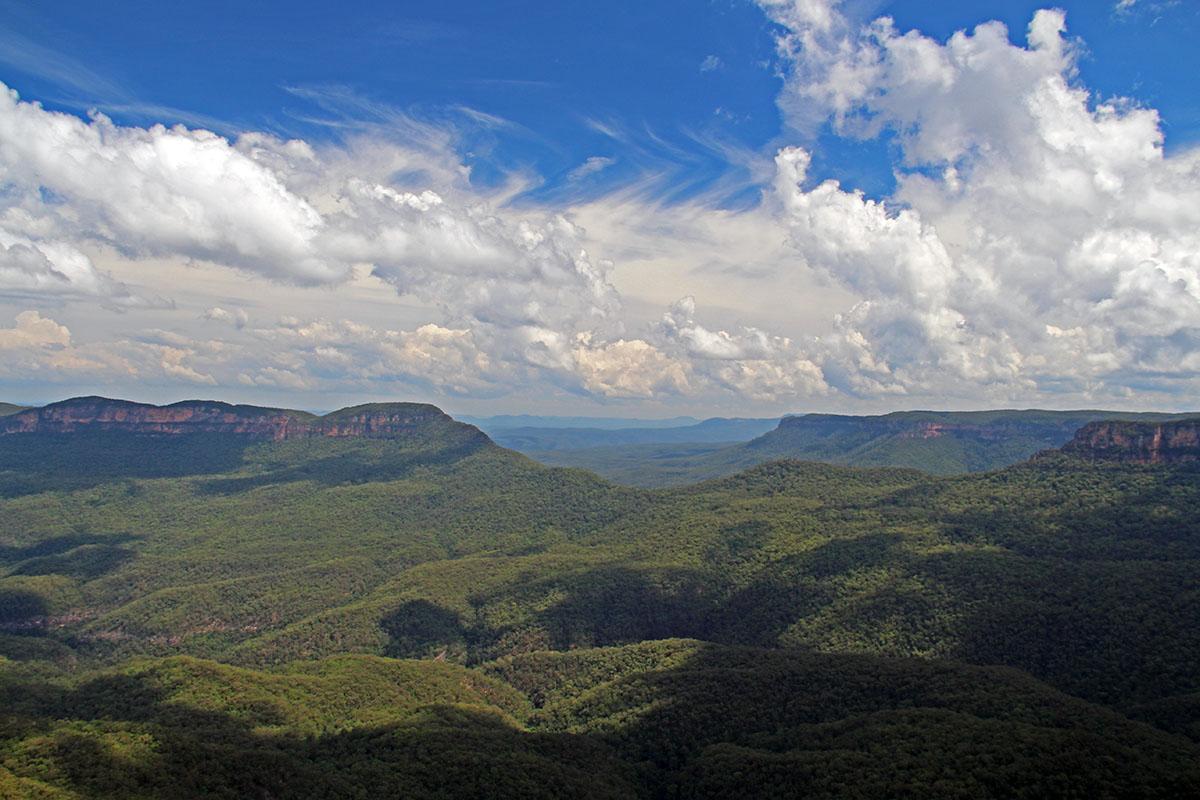 Blue Mountains bij Sydney, Australië