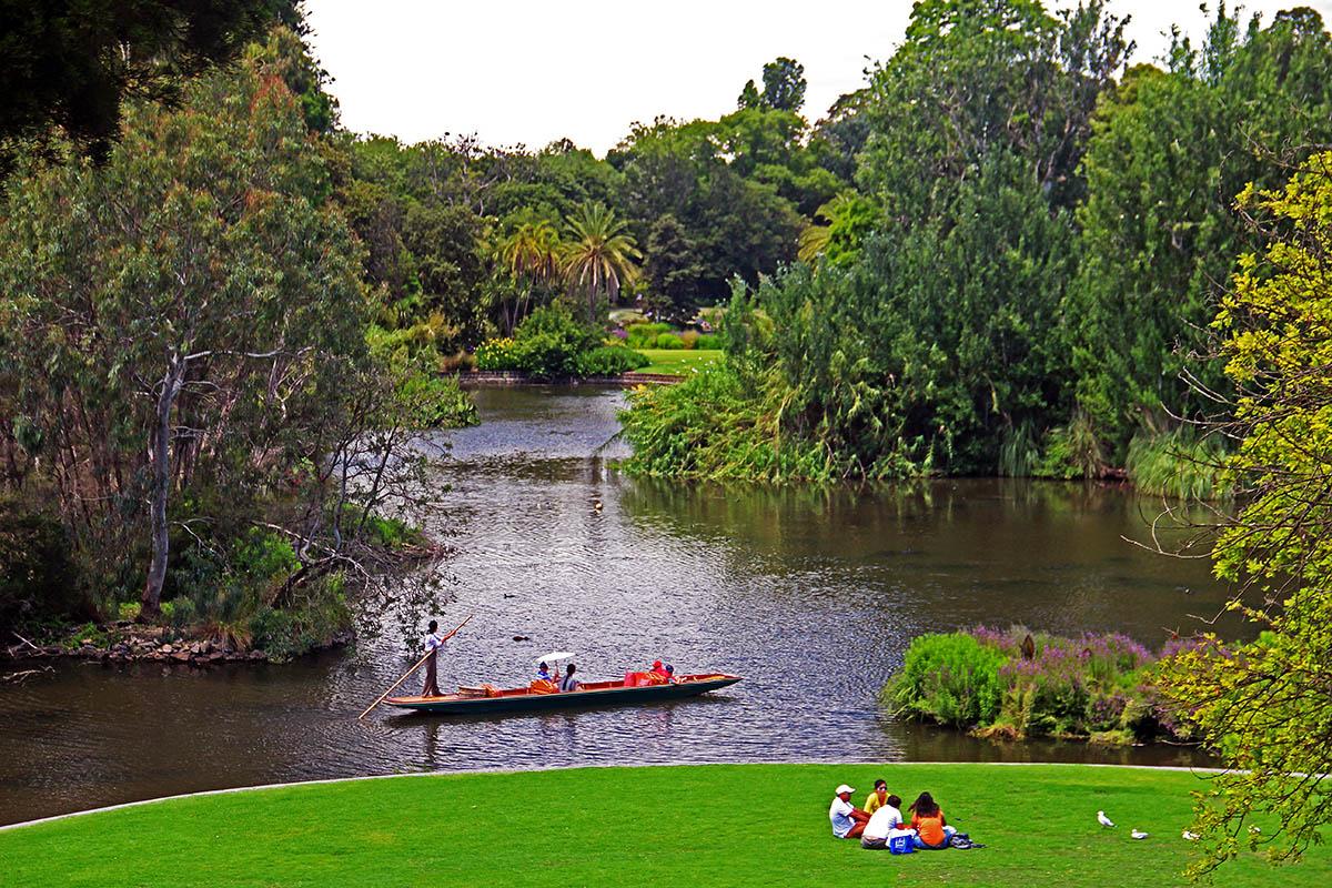 Park in Melbourne, Australië