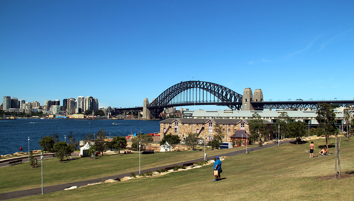 Parkk in Sydney, Australië
