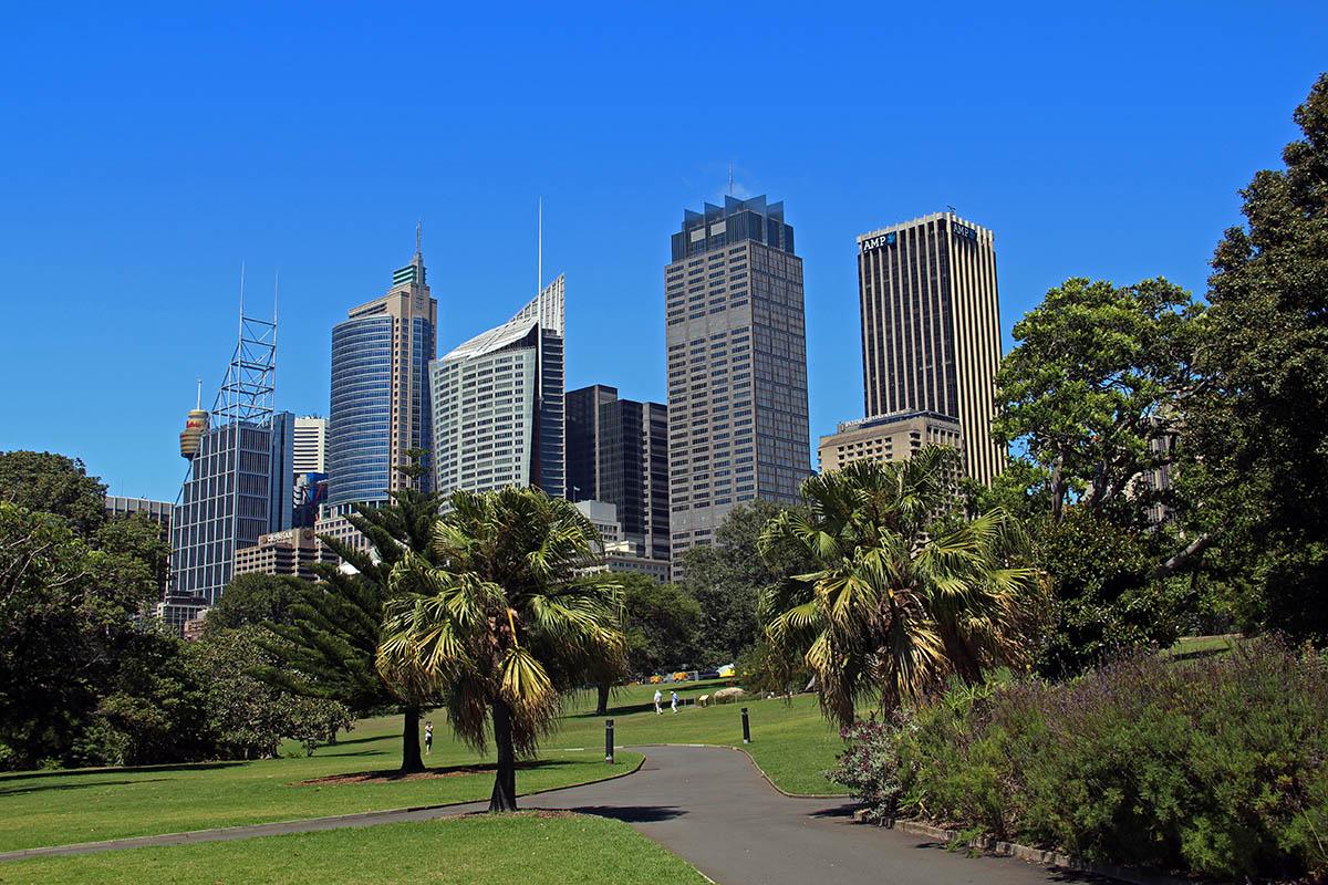 Botanische tuin van Sydney