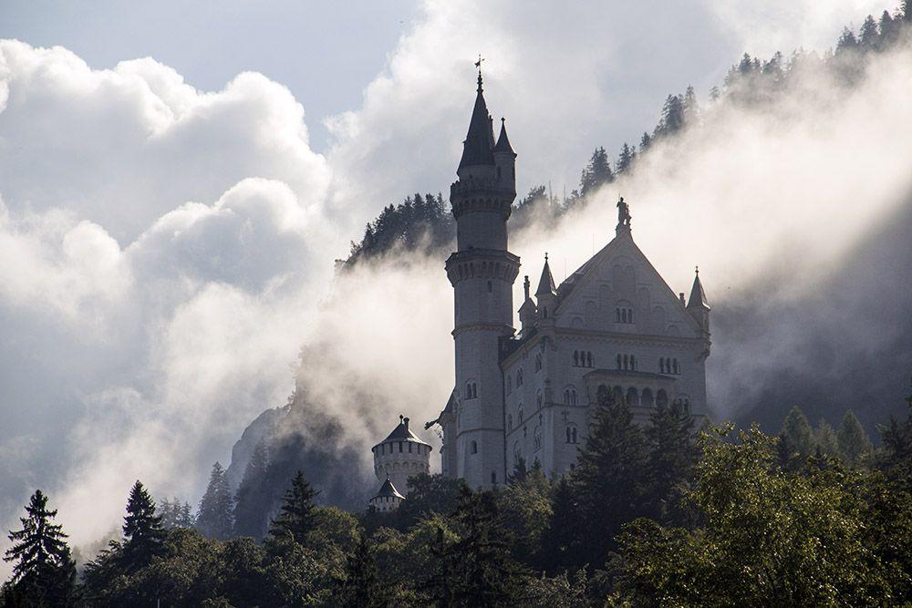 kasteel Neuschwanstein in het zuiden van Duitsland