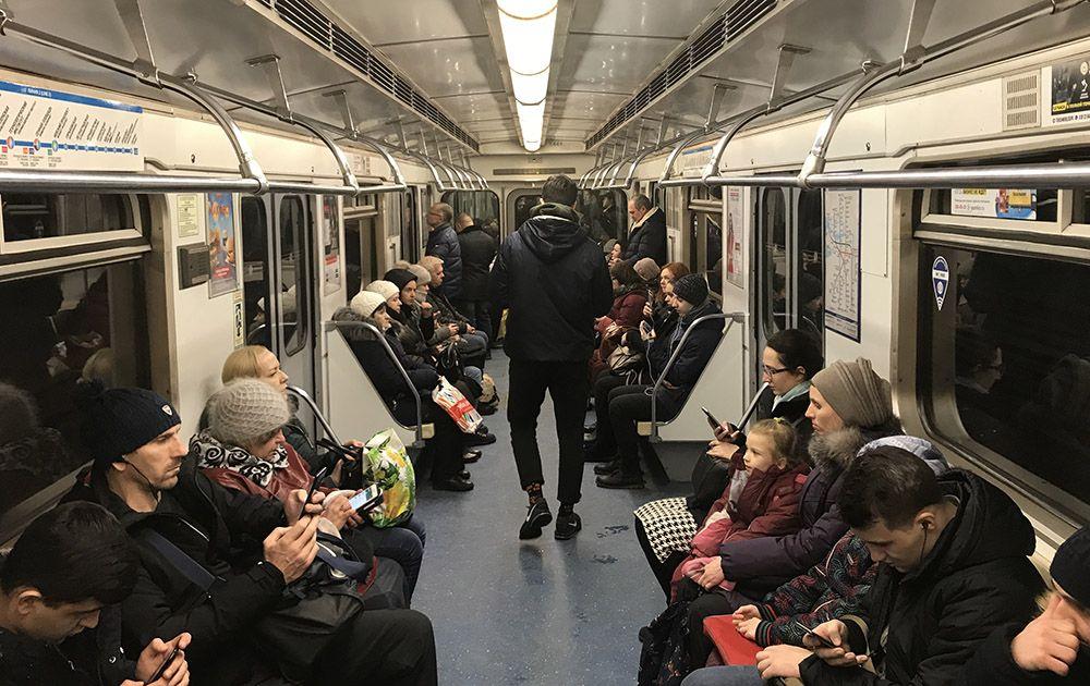 Het metronetwerk in de grote steden in Rusland zoals Sint-Petersburg en Moskou is uitstekend