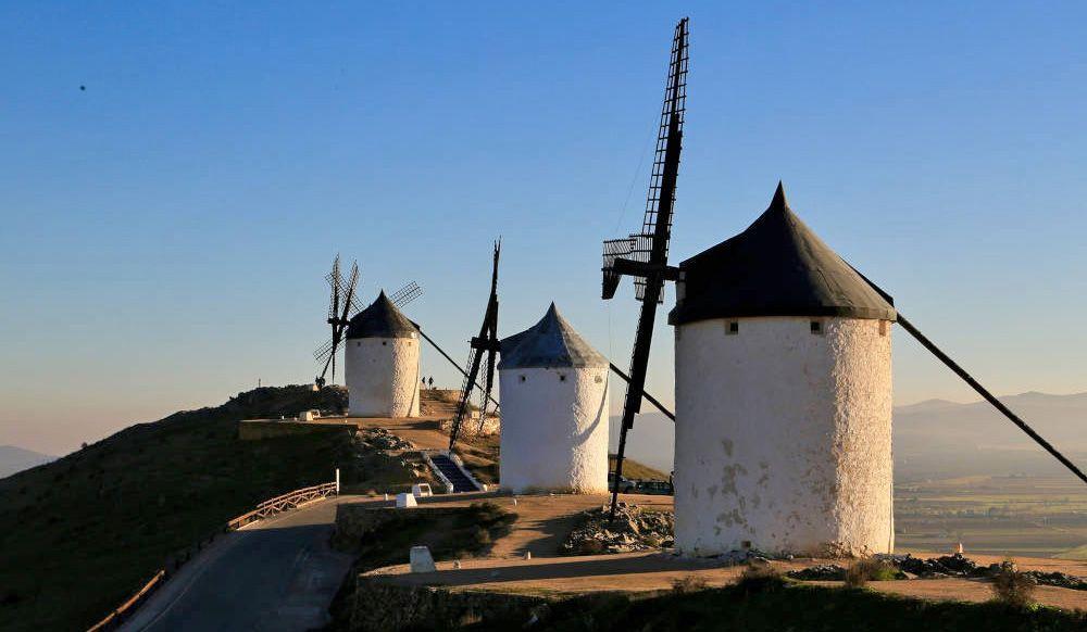 De witte molens van Spanje