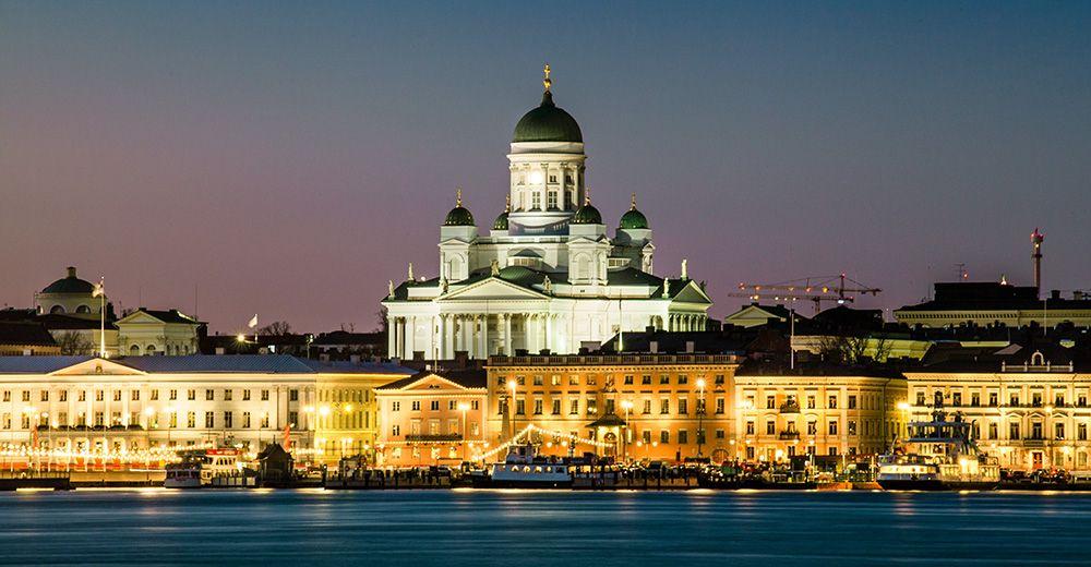 De witte, Lutherse kerk in Helsinki