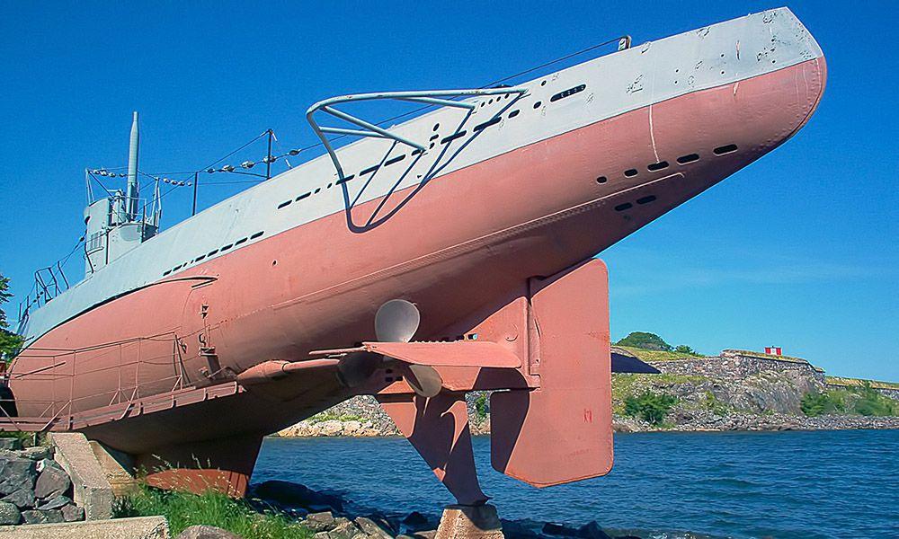 Onderzeeërmuseum in Helsinki
