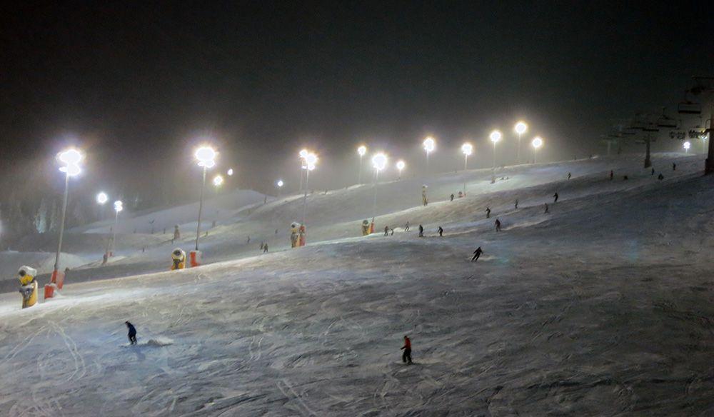 Ski-oord van Levi in Fins Lapland