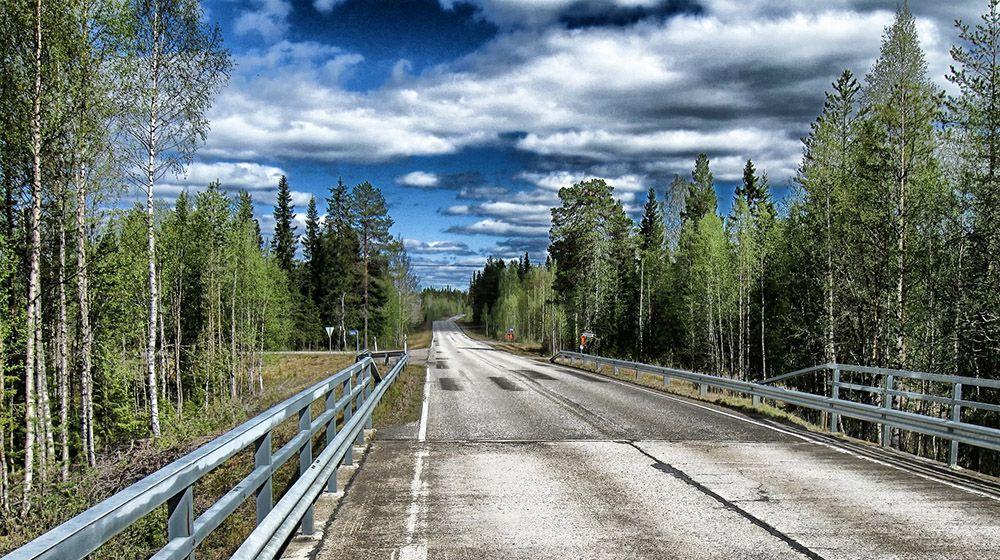 Snelwegen in Finland