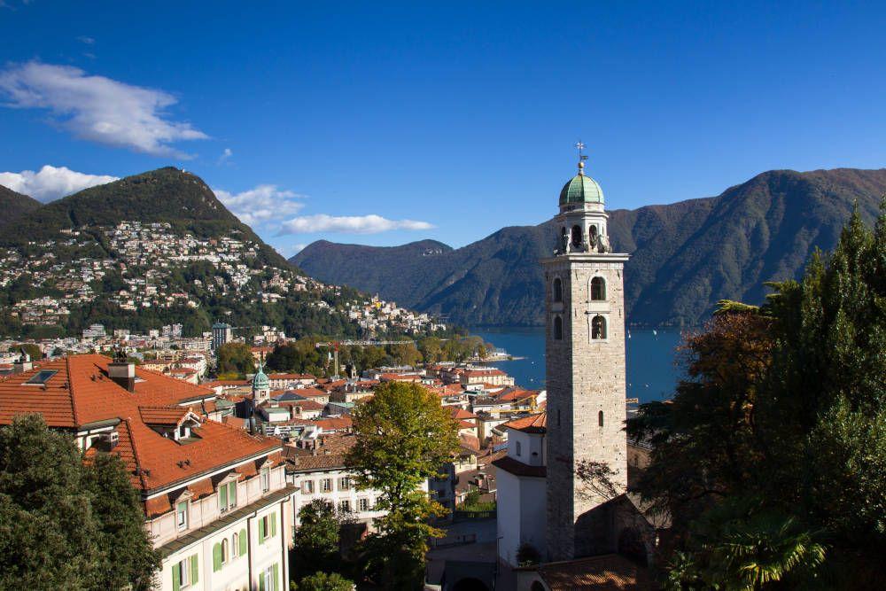 Lugano in Zwitserland
