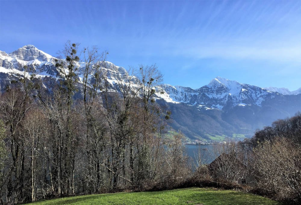 Walensee in Zwitserland