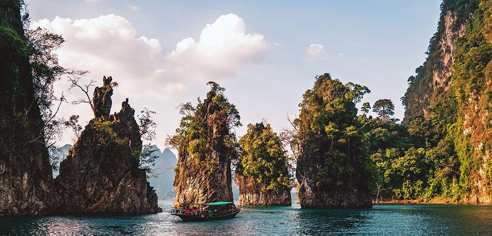 Karsten in Khao Sok National Park in Thailand