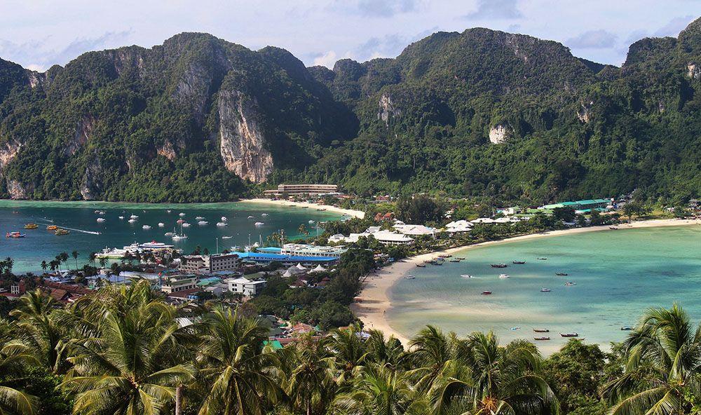 Phi Phi eilanden, Krabi, Thailand