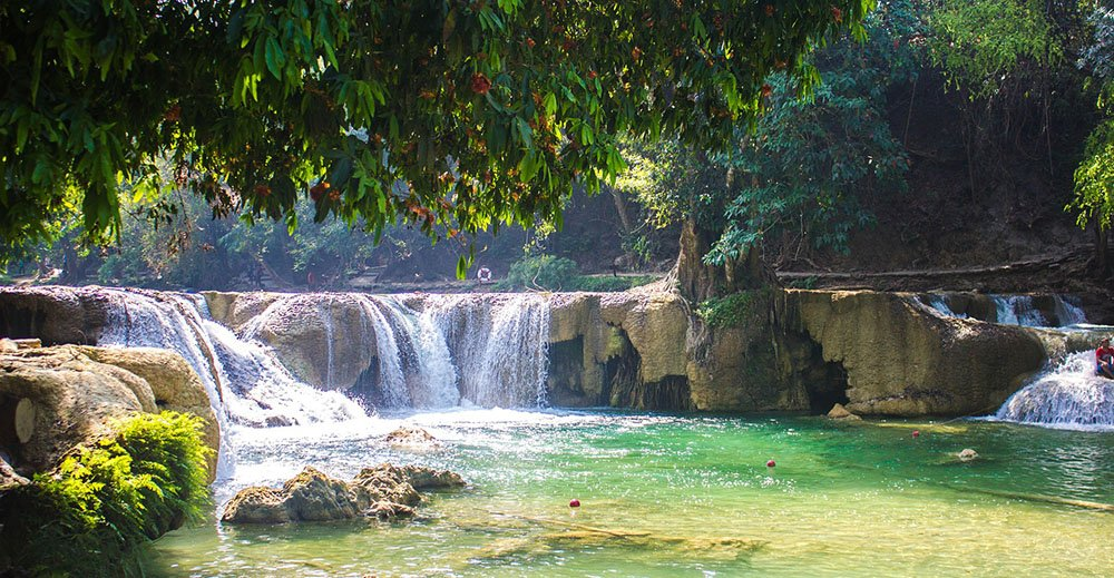 Waterval in Thailand