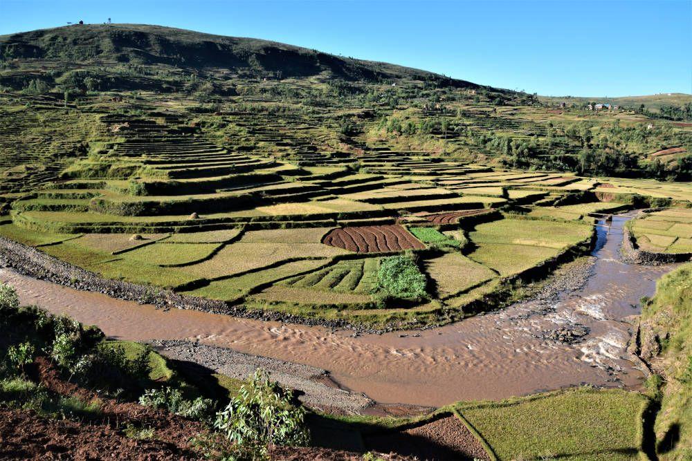 Rivier in Madagaskar
