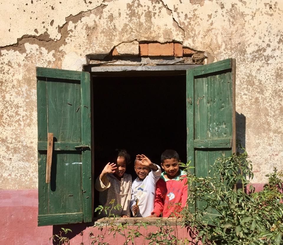 Schoolkinderen in Madagaskar