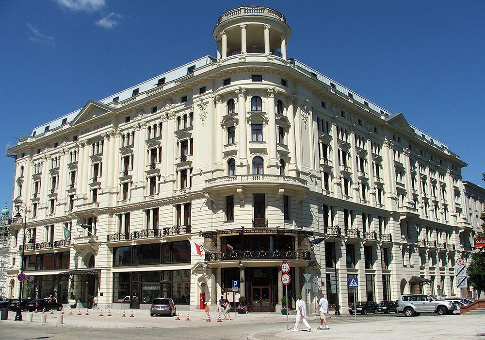 hotel in de buitenwijken van Krakau, Polen