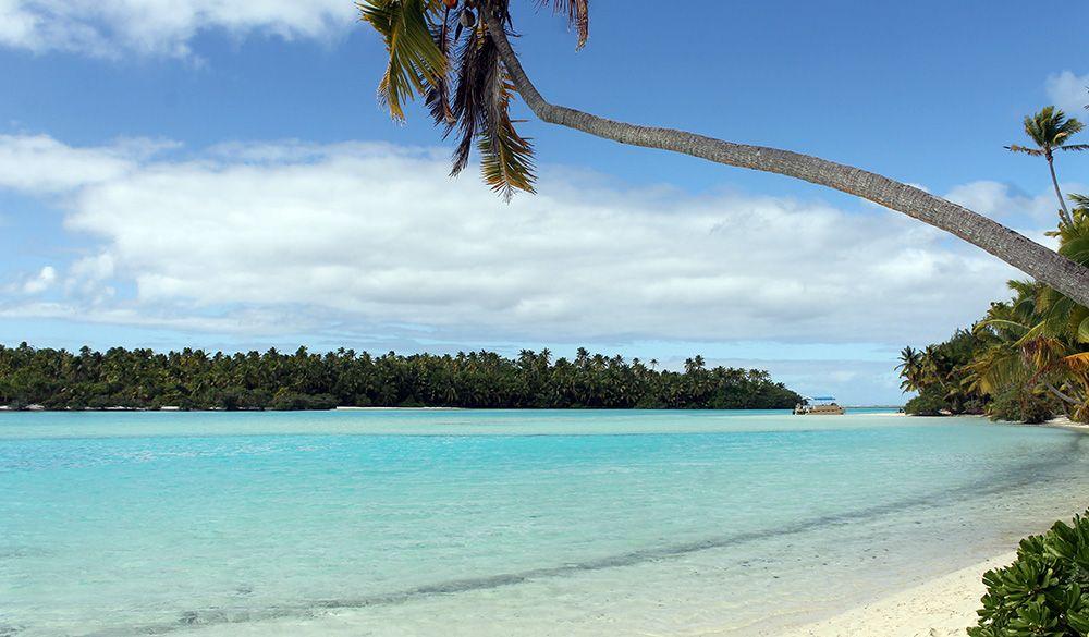 one foot island, aitutaki, Cookeilanden