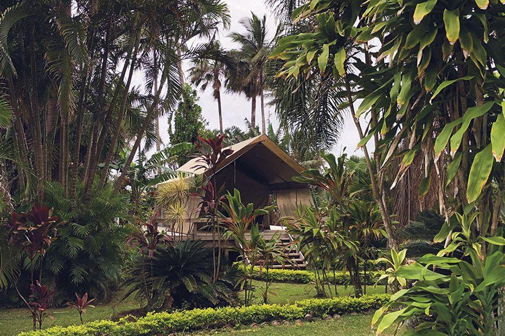 huis in landschap Cookeilanden