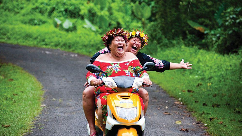 Cookeilanden - scooter