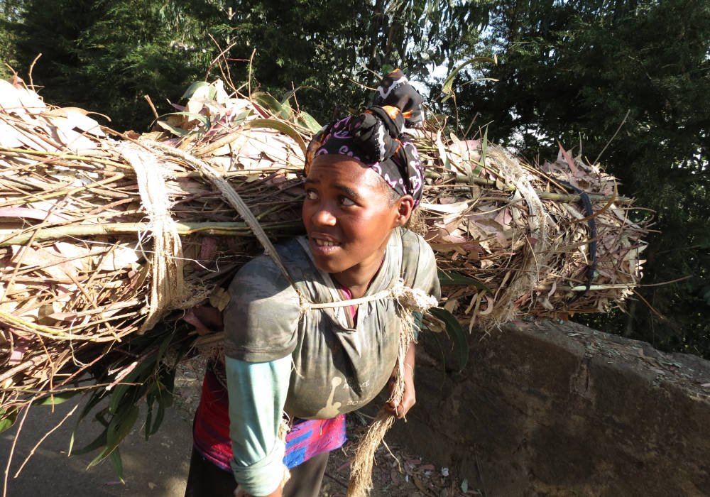 Addis Abeba in Ethiopië