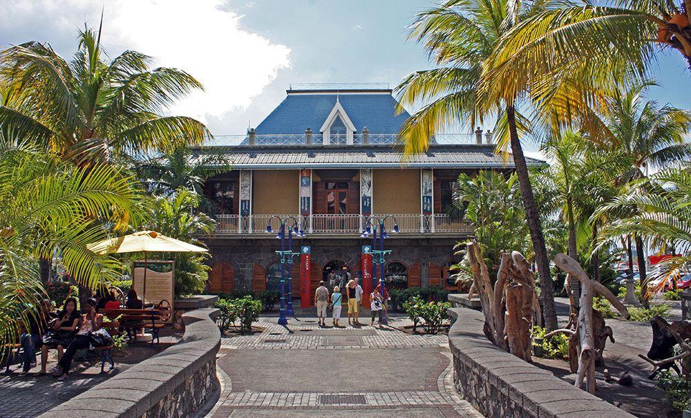 Museum in Port Louis, Mauritius