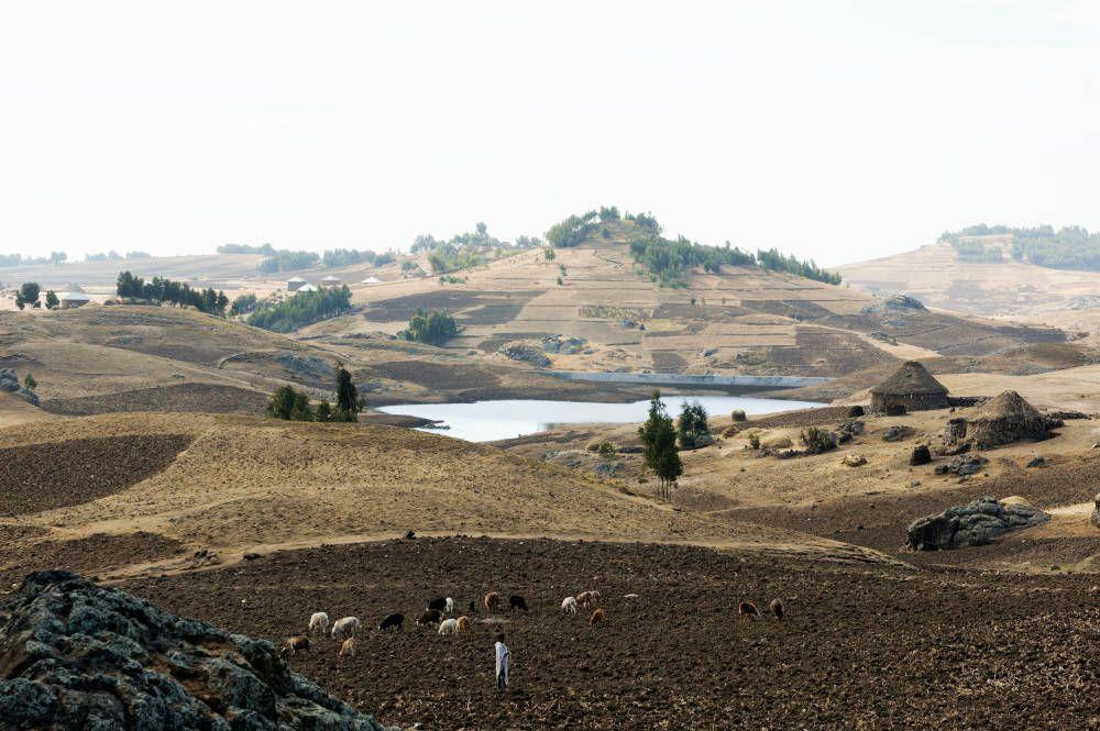 Een trekking bij Lalibela in Ethiopië