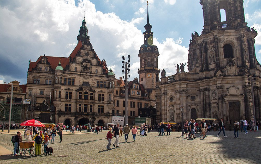 Kathedraal in Dresden