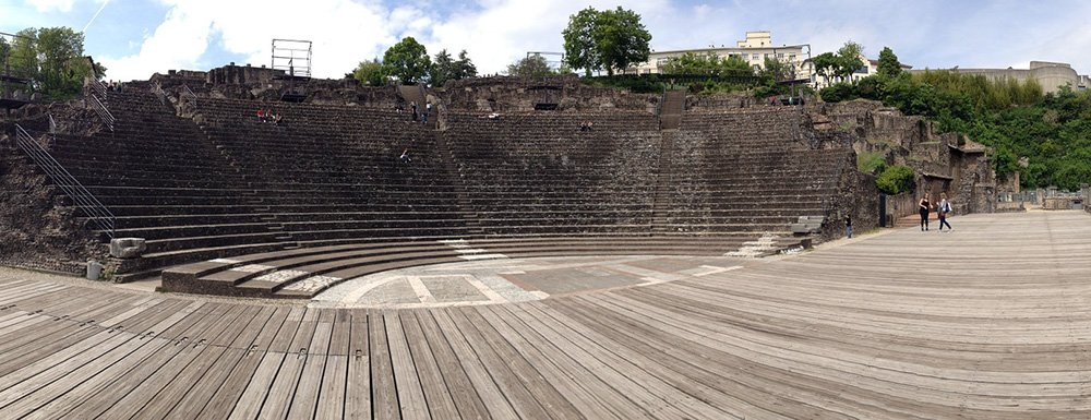 Romeins theater in Lyon