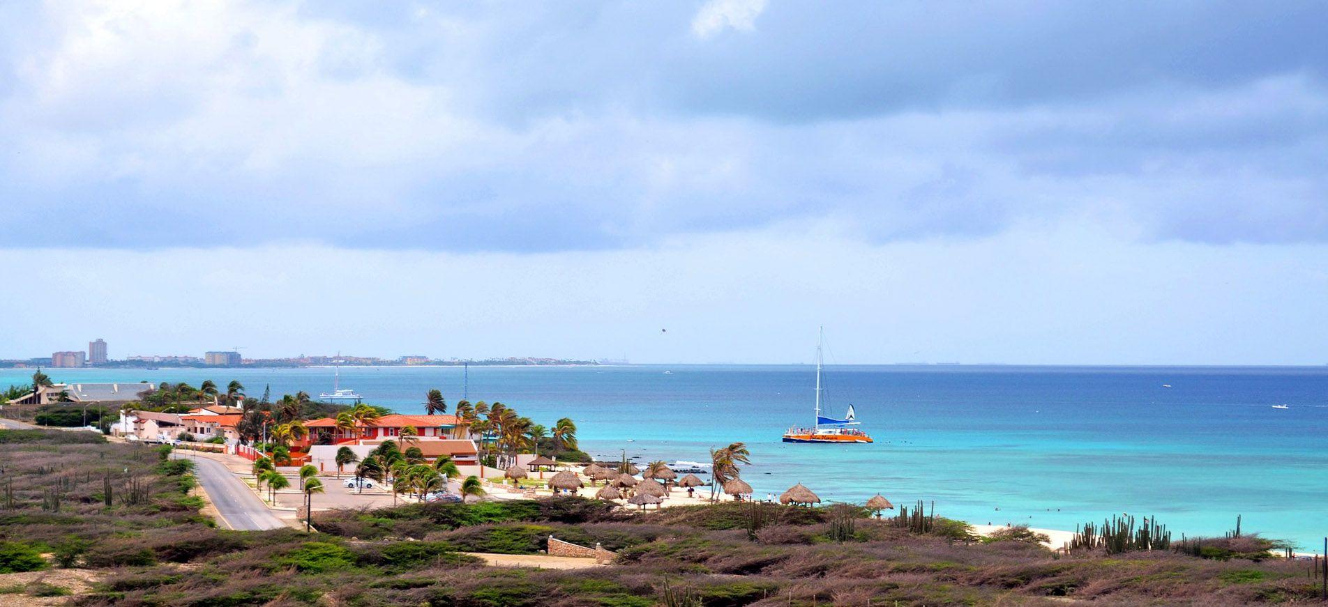 Kustweg op Aruba