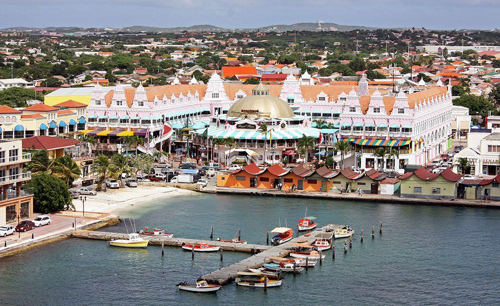 Oranjestad op Aruba