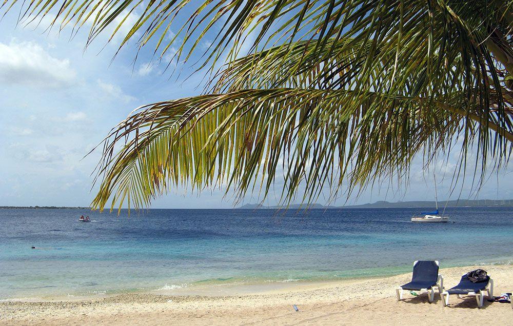 Strand op Bonaire