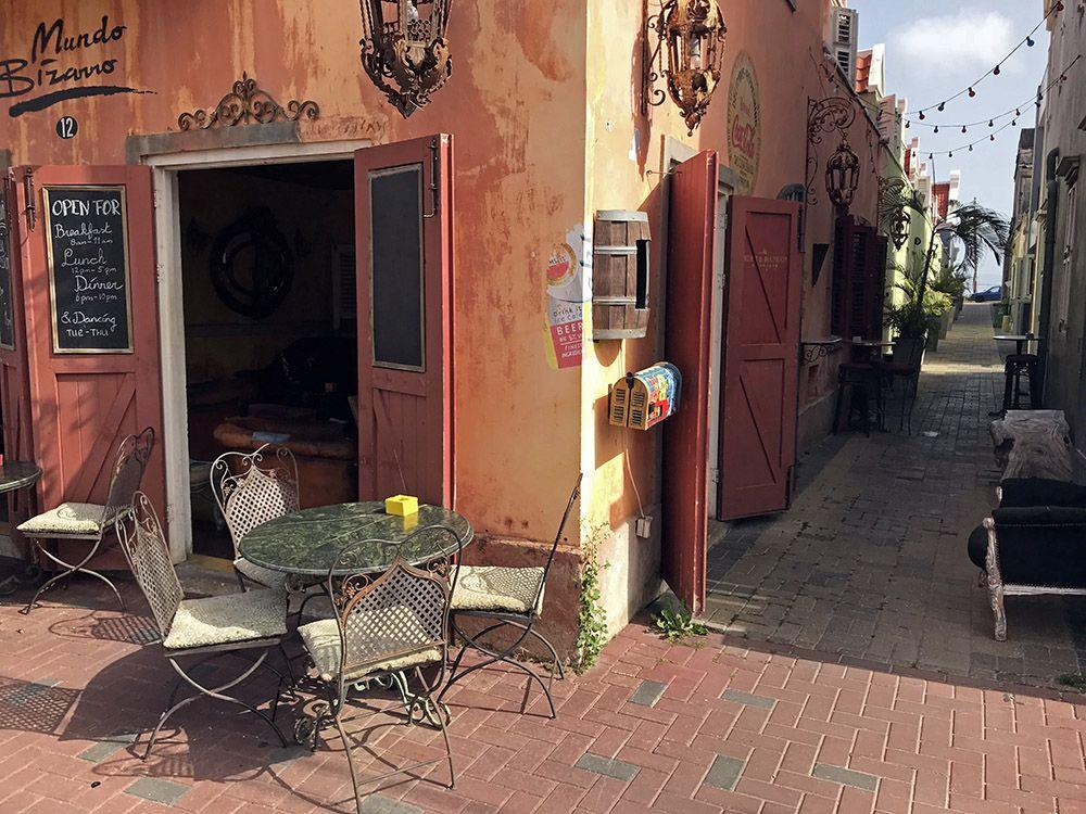 café op Curaçao