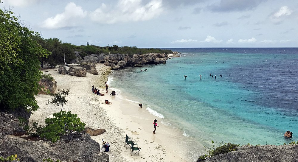 Strand op Curaçao