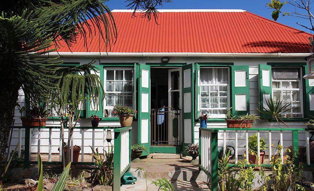 huisje op Saba
