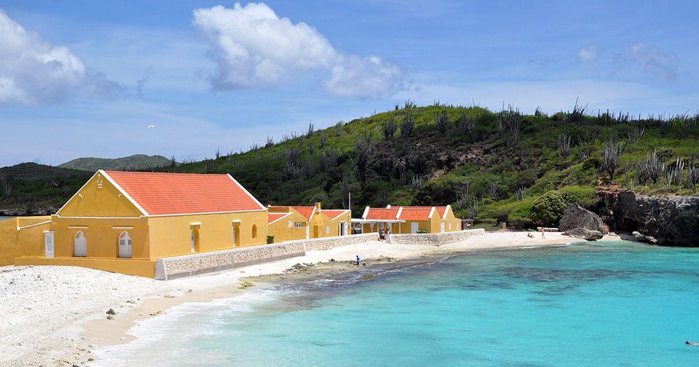Landhuis aan het strand bij Nukove, Bonaire