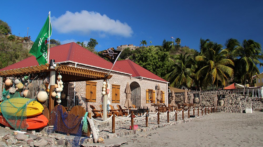 hotel-restaurant op Sint Eustatius