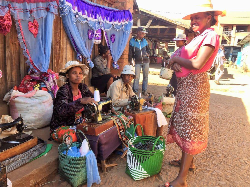 Naaisters in Madagaskar