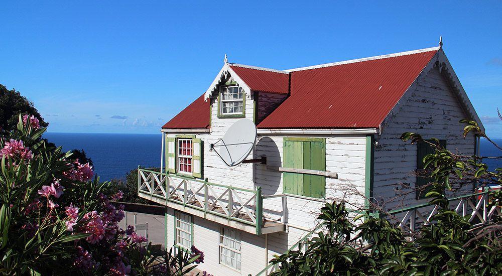 Cottage op Saba